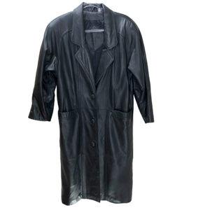 Preston & York Leather Coat